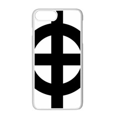 Celtic Cross  Apple Iphone 7 Plus White Seamless Case by abbeyz71