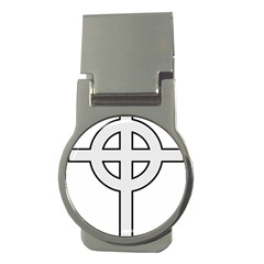 Celtic Cross  Money Clips (round)  by abbeyz71