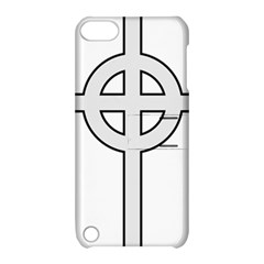 Celtic Cross  Apple Ipod Touch 5 Hardshell Case With Stand by abbeyz71