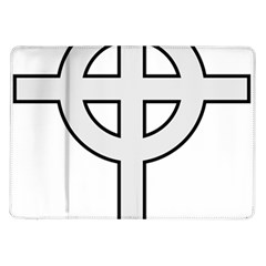 Celtic Cross  Samsung Galaxy Tab 10 1  P7500 Flip Case by abbeyz71