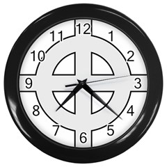 Celtic Cross  Wall Clocks (black) by abbeyz71
