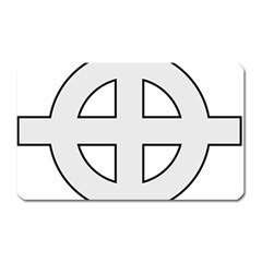 Celtic Cross  Magnet (rectangular) by abbeyz71