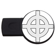 Celtic Cross  Usb Flash Drive Round (2 Gb) by abbeyz71