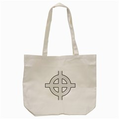 Celtic Cross  Tote Bag (cream) by abbeyz71