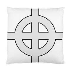 Celtic Cross  Standard Cushion Case (two Sides) by abbeyz71