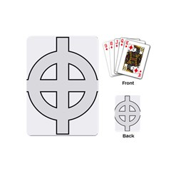 Celtic Cross  Playing Cards (mini)  by abbeyz71