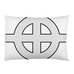 Celtic Cross  Pillow Case (two Sides) by abbeyz71