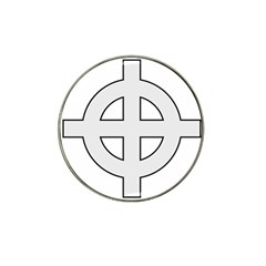 Celtic Cross  Hat Clip Ball Marker (4 Pack) by abbeyz71