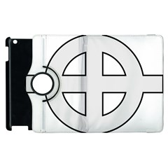 Celtic Cross  Apple Ipad 3/4 Flip 360 Case