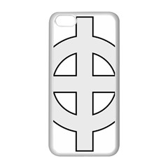 Celtic Cross  Apple Iphone 5c Seamless Case (white) by abbeyz71