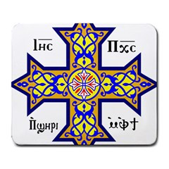 Coptic Cross Large Mousepads by abbeyz71