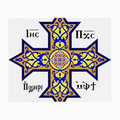 Coptic Cross Small Glasses Cloth by abbeyz71