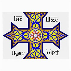 Coptic Cross Large Glasses Cloth (2 Side) by abbeyz71