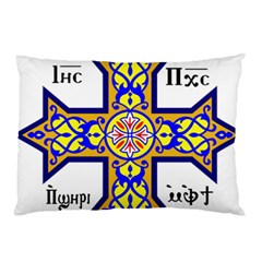 Coptic Cross Pillow Case (two Sides) by abbeyz71