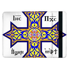 Coptic Cross Samsung Galaxy Tab Pro 12 2  Flip Case by abbeyz71
