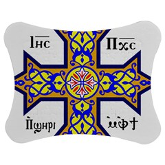 Coptic Cross Jigsaw Puzzle Photo Stand (bow) by abbeyz71