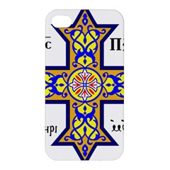 Coptic Cross Apple Iphone 4/4s Premium Hardshell Case by abbeyz71