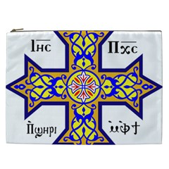 Coptic Cross Cosmetic Bag (xxl)  by abbeyz71