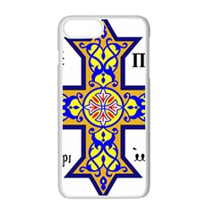 Coptic Cross Apple Iphone 7 Plus White Seamless Case by abbeyz71