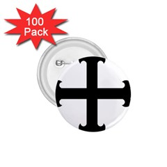 Cross Fleury  1 75  Buttons (100 Pack)  by abbeyz71