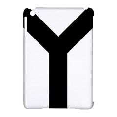 Forked Cross Apple Ipad Mini Hardshell Case (compatible With Smart Cover) by abbeyz71