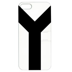 Forked Cross Apple Iphone 5 Hardshell Case With Stand by abbeyz71