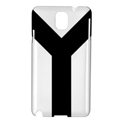 Forked Cross Samsung Galaxy Note 3 N9005 Hardshell Case by abbeyz71