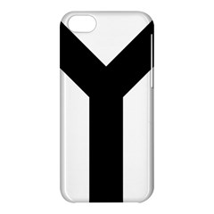 Forked Cross Apple Iphone 5c Hardshell Case by abbeyz71