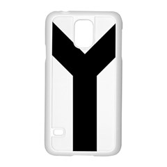 Forked Cross Samsung Galaxy S5 Case (white) by abbeyz71
