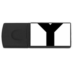 Forked Cross Usb Flash Drive Rectangular (4 Gb) by abbeyz71