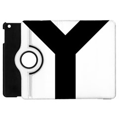 Forked Cross Apple Ipad Mini Flip 360 Case by abbeyz71