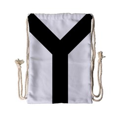 Forked Cross Drawstring Bag (small) by abbeyz71