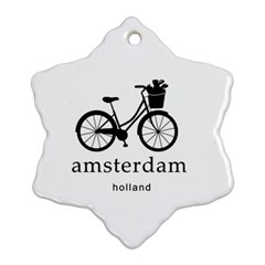 Amsterdam Ornament (snowflake) by Valentinaart