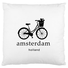 Amsterdam Large Cushion Case (two Sides) by Valentinaart