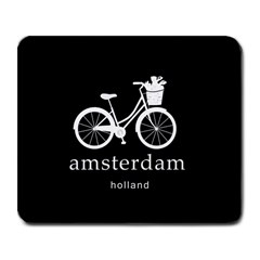 Amsterdam Large Mousepads by Valentinaart