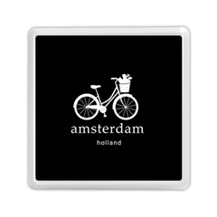 Amsterdam Memory Card Reader (square)  by Valentinaart