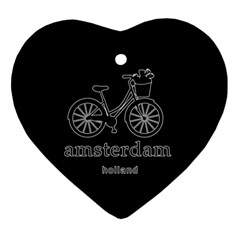 Amsterdam Ornament (heart)