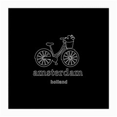 Amsterdam Medium Glasses Cloth (2-side) by Valentinaart