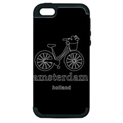 Amsterdam Apple Iphone 5 Hardshell Case (pc+silicone) by Valentinaart