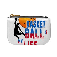Basketball Is My Life Mini Coin Purses by Valentinaart