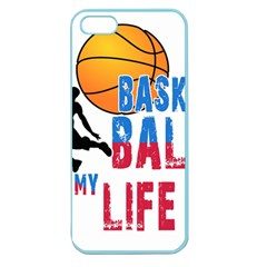 Basketball Is My Life Apple Seamless Iphone 5 Case (color) by Valentinaart