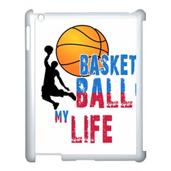 Basketball Is My Life Apple Ipad 3/4 Case (white) by Valentinaart