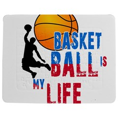 Basketball Is My Life Jigsaw Puzzle Photo Stand (rectangular) by Valentinaart