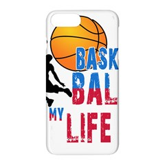 Basketball Is My Life Apple Iphone 7 Plus Hardshell Case by Valentinaart