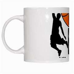 Basketball Is My Life White Mugs by Valentinaart