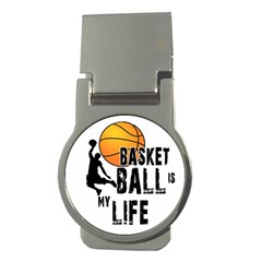 Basketball Is My Life Money Clips (round)  by Valentinaart