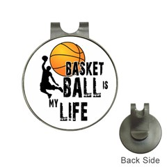 Basketball Is My Life Hat Clips With Golf Markers by Valentinaart