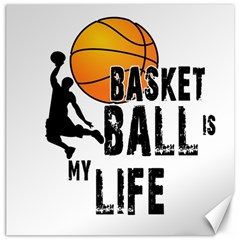 Basketball Is My Life Canvas 20  X 20   by Valentinaart