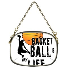 Basketball Is My Life Chain Purses (one Side)  by Valentinaart
