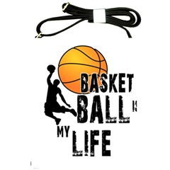 Basketball Is My Life Shoulder Sling Bags by Valentinaart
